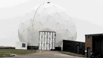 RANSOM: RAF Buchan, near Peterhead, is one of the radar stations blocking windfarm projects in the north-east