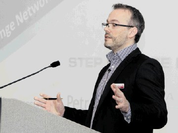 WORKFORCE ENGAGEMENT: Les Linklater of the Step Change initiative
