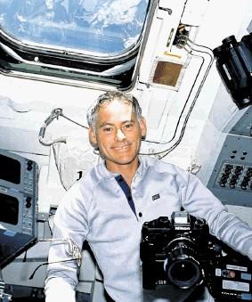 Astronaut Colonel Mike Mullane