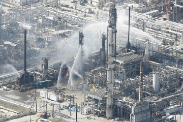 DISASTER: A blast at the  Texas City refinery in 2005  killed 15 people and injured  more than 170 others