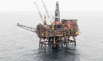 FIND: Production from  Contender will be processed through the North Cormorant platform. Inset, Leo Koot
