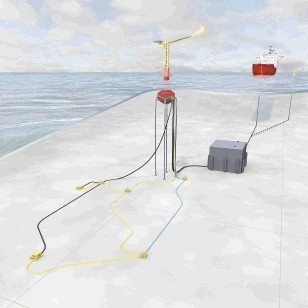 OIL AND GAS: An image from Enegi of how one of its oil fields could look