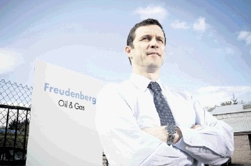 John Dick of Freudenberg Oil & Gas UK