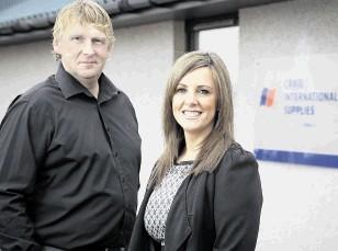 Craig International's Steve McHardy and Jill MacDonald