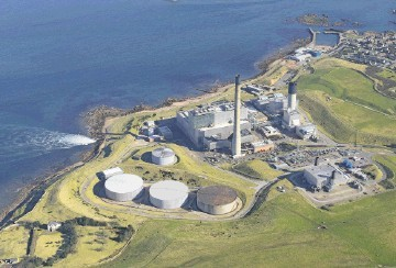 REACHING OUT: Proposals have been submitted for a new energy conversion site to operate near Peterhead Power Station