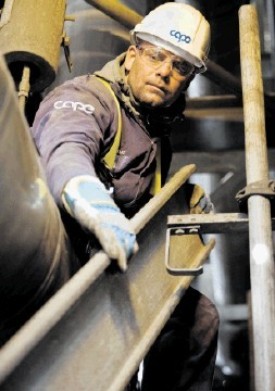 MAJOR PLAYER: Cape employs  about 1,200 people in the North Sea