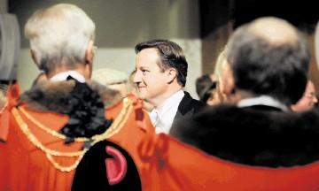 BANQUET SPEECH:  David Cameron   at the Lord Mayor's Banquet last night