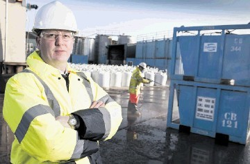 CUTTING EDGE: Rob O'Neill  . . . Our cuttings-handling solutions are leading the way in the field of drilling