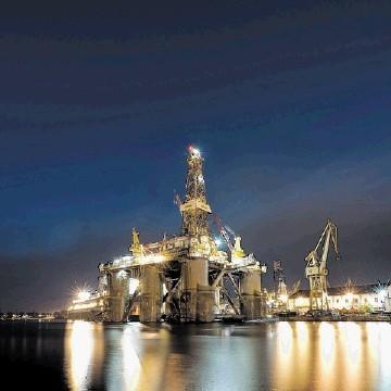 WORKHORSE: Awilco Wilphoenix semi-submersible