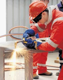 APPRENTICESHIP BOOST: Global Energy Group's Nigg Skills Academy is in the running for an award