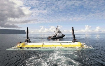 EXPORT POTENTIAL: Emec was established as a wave and tidal-energy test centre in 2003 with about £30million of public funding