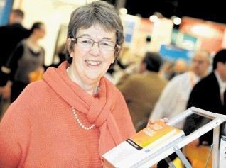 CHAMPION: Judith Patten . . .  honoured for outstanding contribution to  industry