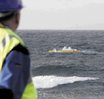 PUBLIC-SECTOR INITIATIVE: Emec has attracted international developers of wave and tidal-energy devices