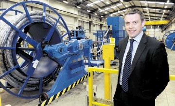 EXPORT FOCUS: Neil Thompson . . .  said Hydrasun had to continue pushing into new countries to grow. Kevin Emslie