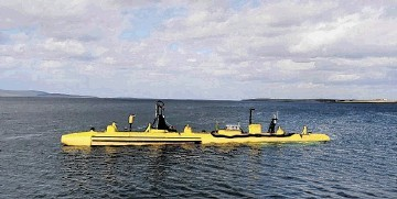PROTOTYPE: The firm's SR250 floating tidal-stream turbine  underwent trials at the Emec test site
