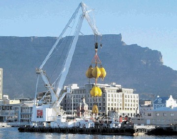 AFRICAN PARTNER:  Cape Town-based Water Weights International specialises in proof load testing