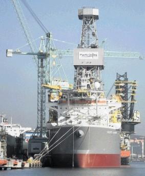 The super drillship Pacific Khamsin