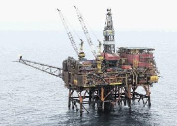 TAQA's North Cormorant platform
