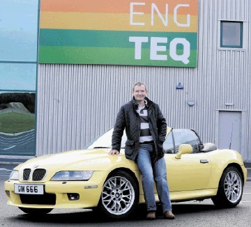 PETROLHEAD: Innes Walker . . . I have a BMW Z3 and an old Fiat, which my wife wants  me to get rid of