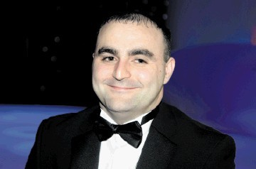 Oil and Gas UK Awards 2012, at AECC.  Picture of Young Technician of the Year finalist Craig Wood.