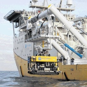 INCREASED DEMAND: Complex subsea developments commonly use multiple services at the same time