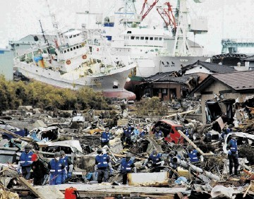 TSUNAMI: Natural disasters can have enormous consequences for  the supply chain as was the case when a massive earthquake hit Japan in 2011