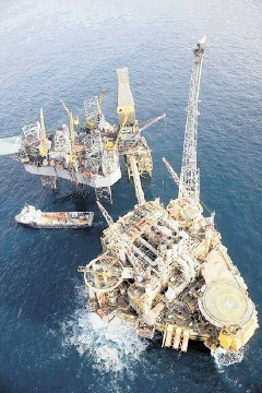 Production has resumed on Total's  Elgin platform