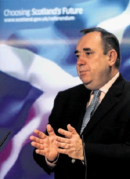 HOW BIG? The SNP believe that future oil revenues will underpin the Scottish economy