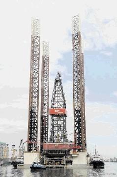 Jack-up rig GSP Jupiter