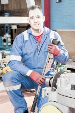 NEW DIRECTION:  Paul Mason, 29, has joined the  transition training programme
