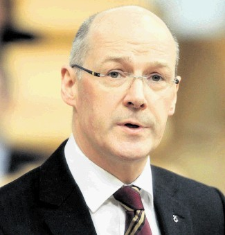 STATE PENSION DOUBTS: A leaked paper by Finance Secretary John Swinney has raised the stakes for oil revenues