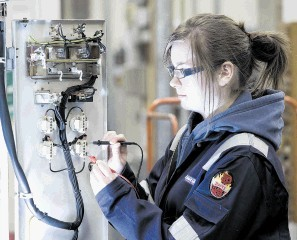 HIGH REWARDS: There is a need for greater efforts to attract people, particularly the young, into the North Sea industry