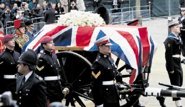 CRAZY: Margaret Thatcher's funeral cost £3.5million apparently; the offshore industry's new centre of excellence gets just £7million