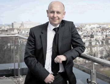 LONG-TERM COMMITMENT: David Kemp . . . the North Sea is still a fundamental part of our operations