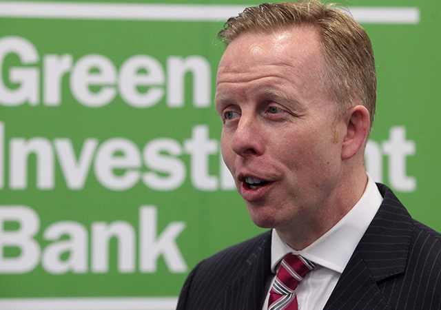 Shaun Kingsbury, CEO of the UK's Green Investment Bank