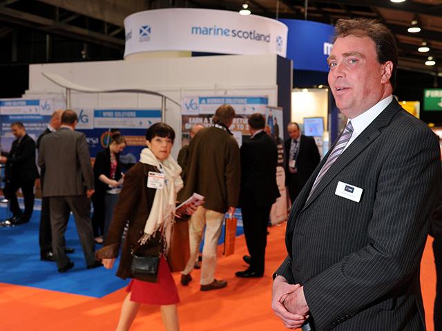 All-Energy exhibition director Jonathan Heastie