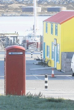 Port Stanley in the Falklands