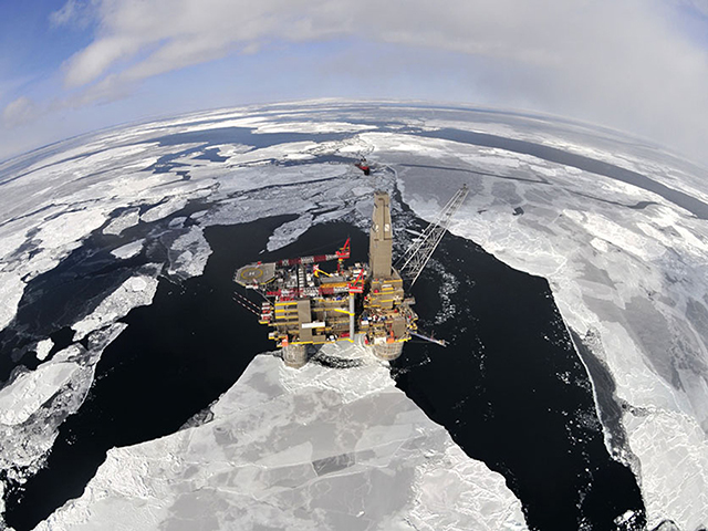 Sakhalin II, offshore platform, Russia