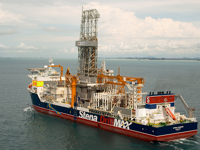 The Stena Carron struck oil for ExxobnMobil off Guyana