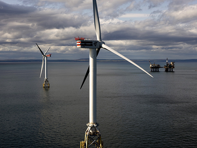The Beatrice wind farm test project