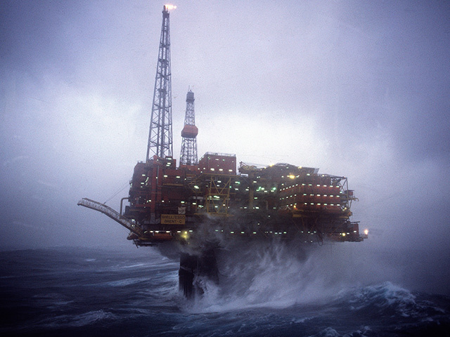 Amazon North Sea rig