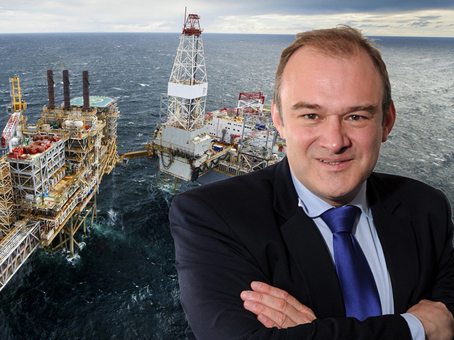 QUESTIONABLE: Ed Davey is going to have another review of how to maximise the economic benefits of North Sea oil and gas
