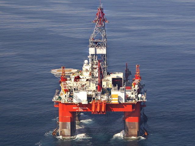 Seadrill's drilling rig West Hercules.
