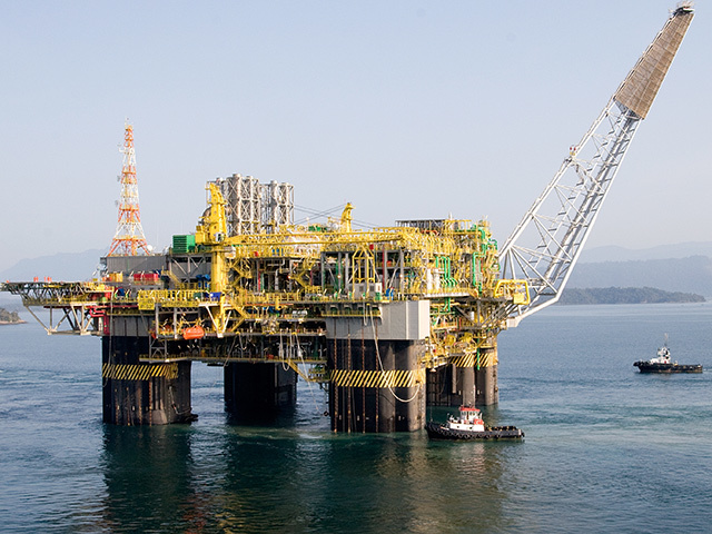Petrobras' floating production unit P52
