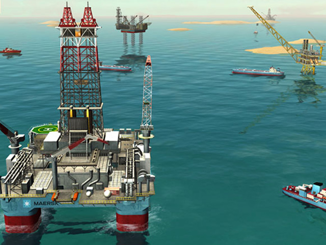 Maersk's new Quest For Oil game.