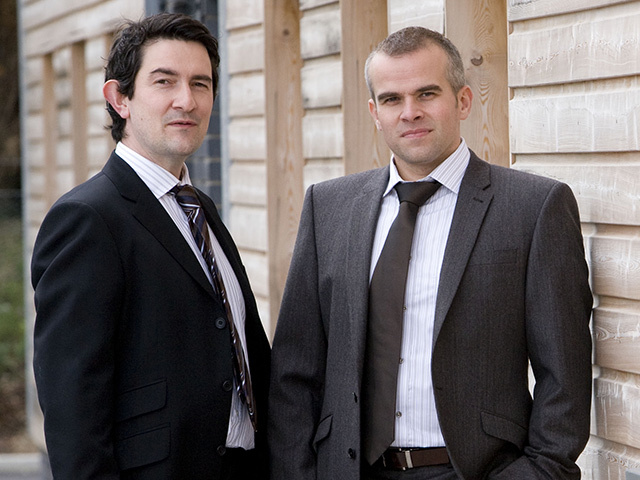 Andrew Kinsler, left, and Alistair Moncur