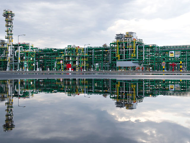 Bolashak oil plant,  Kashagan  offshore oil field
