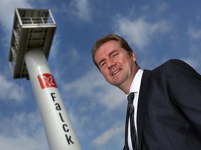 Falck managing director Colin Leyden