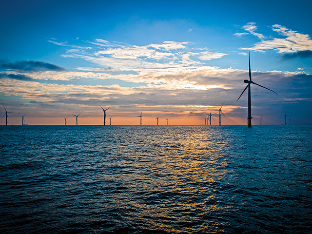 The London Array windfarm