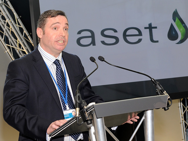 Aset chief executive Atholl Menzies